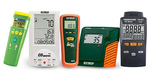 CO Meter เครื่องวัดก๊าซคาร์บอนมอนนอกไซด์ Carbon Monoxide Meter