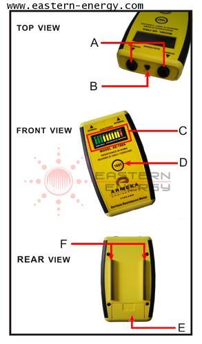 ARMEKA AE-780A ESD Meter ESD, Tester ESD, Checker, เครื่องมือวัดไฟฟ้าสถิตย์, ทดสอบไฟฟ้าสถิต