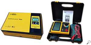 SMART SENSOR® AR907+ Insulation Tester เครื่องทดสอบความต้านทานฉนวน