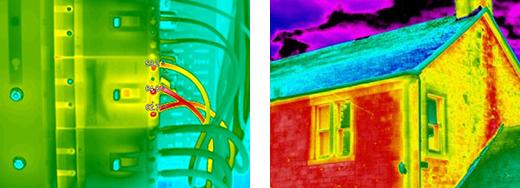กล้องถ่ายภาพความร้อน Thermal Imaging Camera FLIR , CEM
