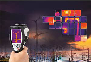 กล้องถ่ายภาพความร้อน Thermal Imager CEM DT-980