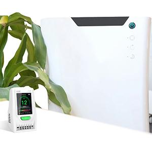 เครื่องวัดฝุ่นละอองในอากาศ Particle Counter PM2.5 Air Quality Detector รุ่น DT-968