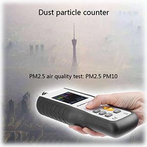 เครื่องวัดฝุ่นละอองในอากาศ  Particle Counter