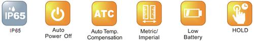 SA01 - เครี่องวัดความเค็ม salinity pen/Temp Meter รุ่น 8372