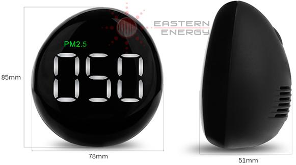 เครื่องวัดฝุ่นละออง PM2.5 Air Quality Monitor รุ่น ETE10