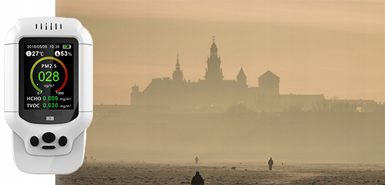 เครื่องวัดค่าฝุ่นละออง PM2.5 Air Quality Monitor เครื่องวัดค่าฝุ่นละออง PM2.5 Air Quality Monitor