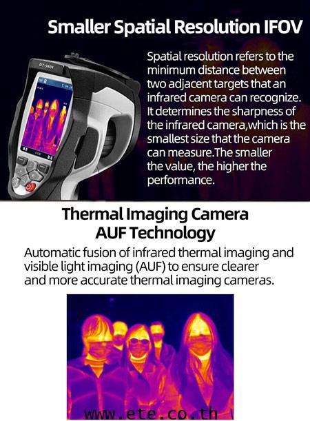 DT-980Y CEM กล้องถ่ายภาพความร้อน