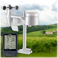 เครื่องวัดสภาพอากาศ ปริมาณน้ำฝน Weather Station