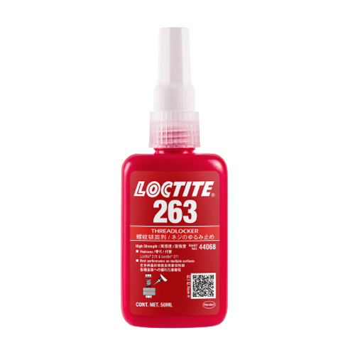 Loctite 263 High Strength Threadlocker Anaerobic Adhesive Red 50ml Bottle