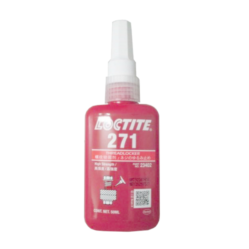 Loctite 271 High Strength Acrylic Anaerobic Threadlocker Adhesive Red 50ml Bottle