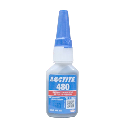Loctite 480 Toughened Instant Adhesive Black 20 g Bottle