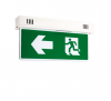 SUNNY Housing Exit Sign Ligth Double side 1x10 w. Battery Ni-Mh 3.6V-1800 mAh. Model.SLS1-10LED/D(B)