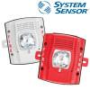 SYSTEM SENSOR Wall-Mount Fire Speaker ,Red Outdoor Model. SPRK