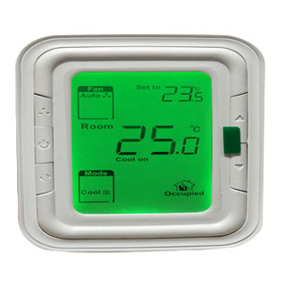ควบคุมอุณหภูมิห้อง  Proportional  Digital Room Thermostat, Model T6865, 24VAC. 0-10V Honeywell