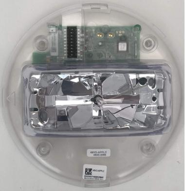 SIMPLEX Addressable Multi-candela strobe intensity selectable15,30,75,110CD.Cieling model.49VO-APPLW