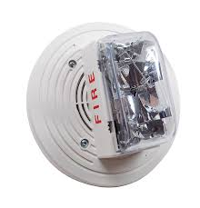 SIMPLEX Non-Addressable Speaker with Strobe selectable 15,30,75,110 CD.Ceiling White model.4906-9154