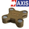 AXIS Copper Alloy Square Tape Clamp Model. STC0253  23x3 mm. Type A
