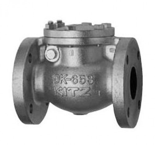 KITZ Cast iron Swing Check Valve A126CL.B 125 Psi. Flanged 2 Inch. model. 125FCO