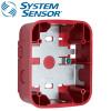 SYSTEM SENSOR Wall Surface Mount back Box ,Red Model. SBBRL