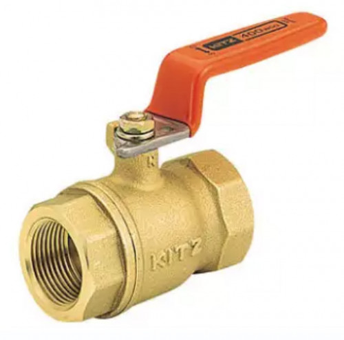 KITZ Brass Ball Valve W.O.G. 400 Psi. Thread End BS21 Size 1-1/4 Inch. model. T/AKT