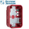 SYSTEM SENSOR Wall Surface Mount back Box Compact ,Red Model. SBBGRL
