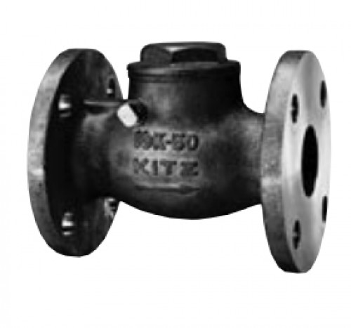 KITZ Stainless Steel Swing Check Valve SCS14A 10k Psi. Flanged 1/2 Inch.model.10UOBM