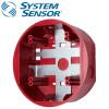 SYSTEM SENSOR Ceilling SurfaceMount back Box ,Red Model. SBBCRL