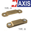 AXIS Copper Alloy Metallic DC Tape Clip Model.TCC0025