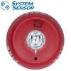 SYSTEM SENSOR 2-wire Horn/Strobe Std Candela ,Ceiling Red  Model. PC2RL