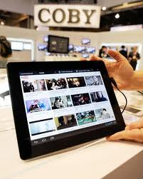 Coby บริษัทผู้จำหน่ายแท็บเล็ตจากประเทศอเมริกา แนะนำแท็บเล็ตตัวใหม่รุ่น  Coby Kyros 9742 Tablet