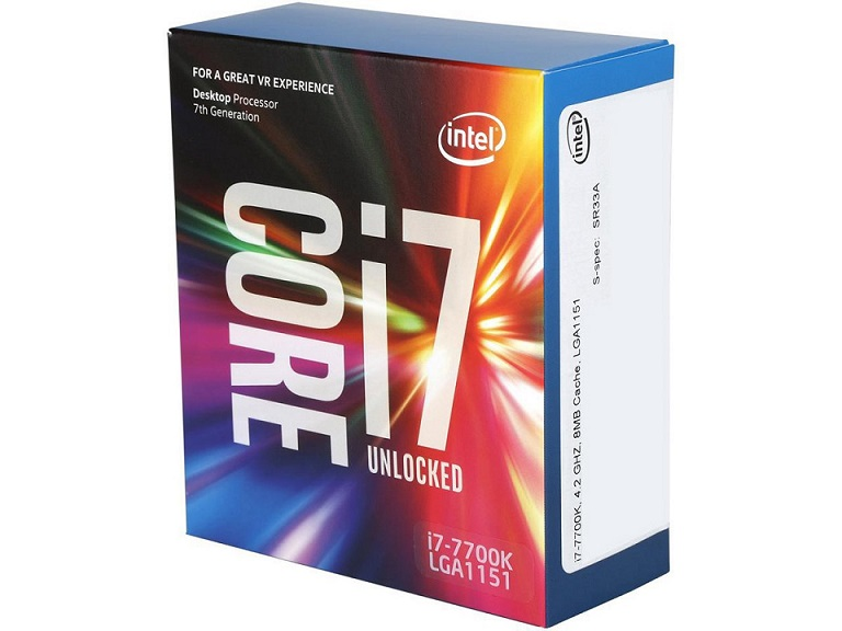 CPU INTEL 1151 CORE I7 7700K 4.2 GHz ( KABY LAKE )