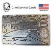 การ์ดเครื่องมือ Zachary Fowler Signature Card GrimSurvival