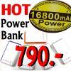 (P16800) POWER BANK แบตเตอรี่สำรอง กล้องติดรถยนต์ , มือถือ , แท็ปเล็ต ความจุ 16,800 mAh.