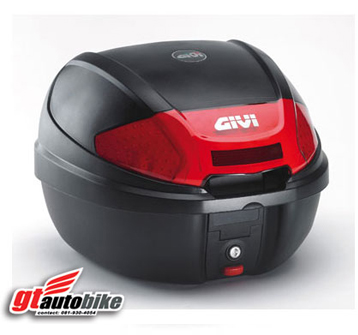 * GIVI E300 New * กล่องท้ายดีไซน์ใหม่ สวยเท่ห์ ทรงสปอร์ต จาก GIVI