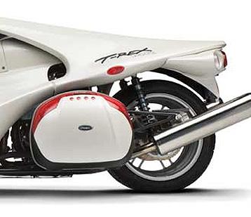 T-REX 14R & GIVI กับ จักรยานยนต์ 3 ล้อ 2 ที่นั่ง...สวยหยด :)