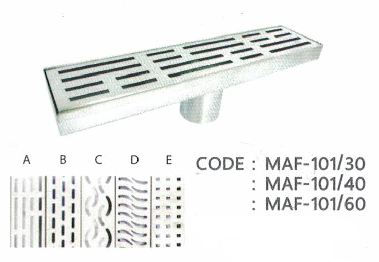 MARVEL Floor Drain CODE: MAF-101/40 ราคา 2,070 บาท
