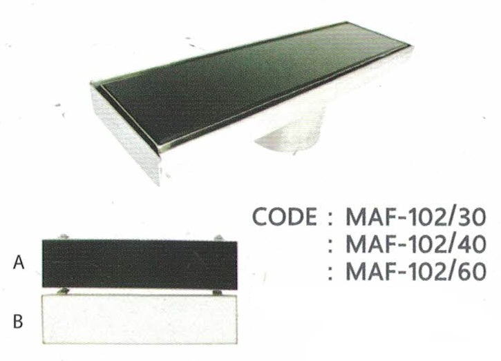 MARVEL Floor Drain CODE: MAF-102/40 ราคา 2,415 บาท