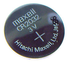 BATTERY   CR-2032 (3V)   MAXELL