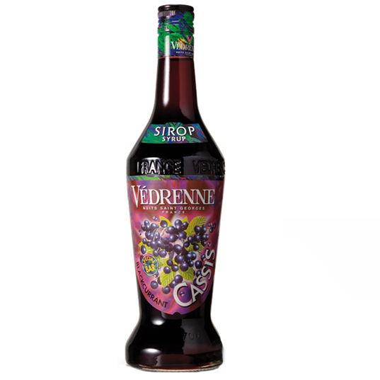 VEDRENNE BLACKCURRANT (Casis) SYRUP