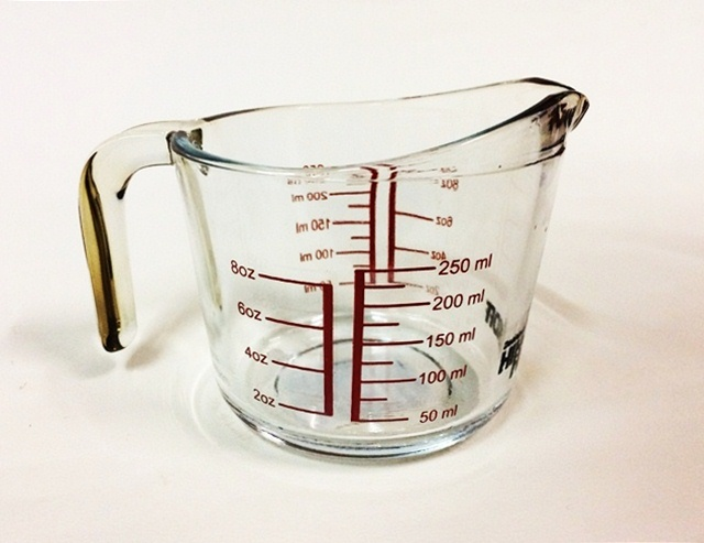 Hillkoff measuring cup ถ้วยตวง 8 oz.