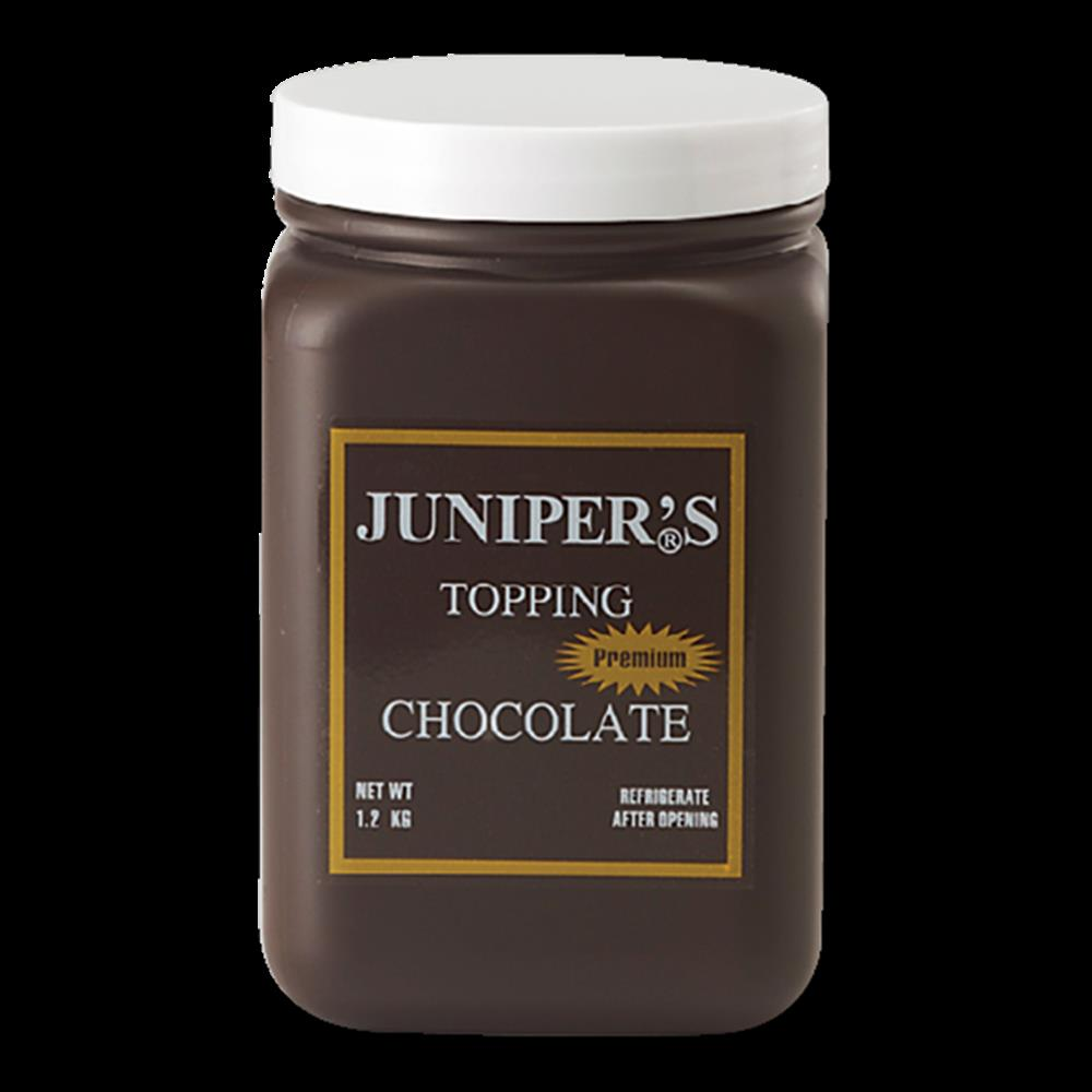 Juniper Topping Chocolate 1.2 kg.