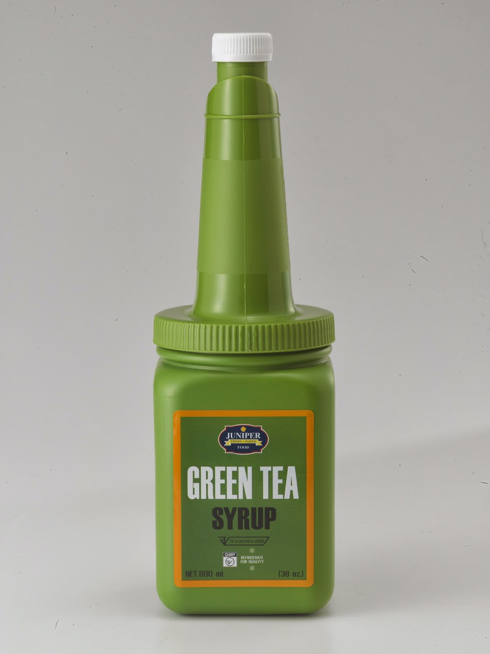 Juniper Greentea Syrup 800 ml.