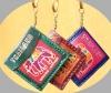 Elephant Keychain Leather Pocket
