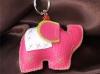 Thai Elephant Sawasdee Keychain
