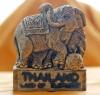 Thai elephant Kick Ball Magnet