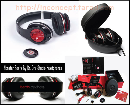 MONSTER BEATS STUDIO เกรด AAA (ดำ)