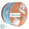 สาย Lan LINK CAT6A U/FTP XG (500 MHz) รุ่น US-9256LSZH CABLE, LSZH Aqua 305 M./ม้วน
