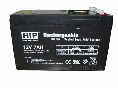 HIP Battery 12V 7AH
