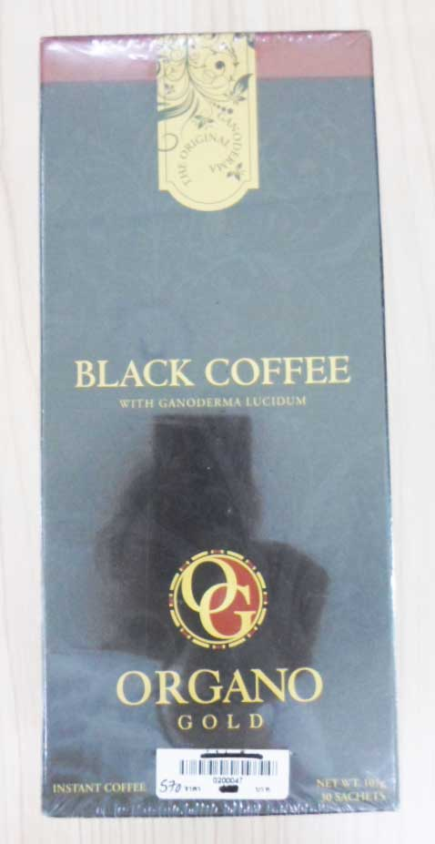 Black-Coffee(30\'s) ORGANO Gold