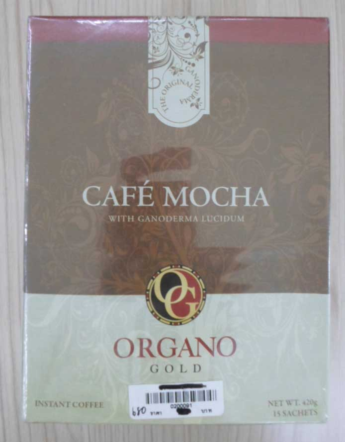 Cafe-Mocha(15\'s)  ORGANO Gold